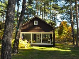 forest house forest house minimalist cabin in the woods of germany