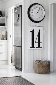 Clock For Bathroom Large Black Wall Clock Foter