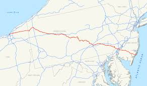 Road Map Of Pennsylvania by U S Route 322 Wikipedia