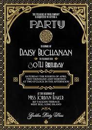 gatsby invitations gatsby party invitation cloveranddot