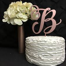 wedding cake toppers letters monogram cake topper letter cake topper wedding cake topper