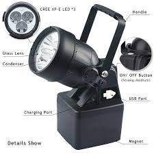 explosion proof led work light 2017 newest item 20000 lumen 40w led work light magnetic base with