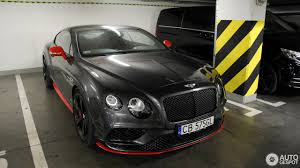 bentley coupe 2016 bentley continental gt speed black edition 2016 24 july 2017
