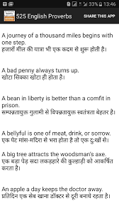 Resume For Career Change 525 Proverbs In English Hindi App Ranking And Store Data App Annie