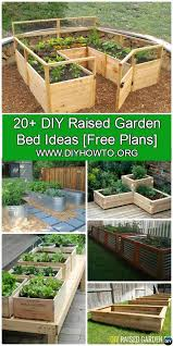 Diy Garden Bed Ideas More Than 20 Diy Raised Garden Bed Ideas Free Plans