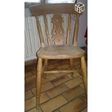 chaise en pin table ronde pin anglais plus 2 rallonges et 4 chaises achat et vente