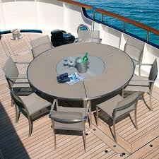 Patio Furniture Chicago by Glass Top Outdoor Dining Table Modern Patio Chicago By