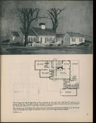 small retro house plans houses for homemakers 1945 vintage house plans 1940s pinterest