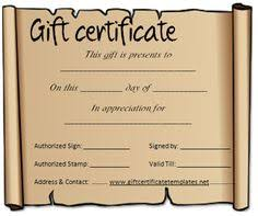 ice and snow gift certificate template projects to try