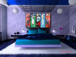 Modern Blue Bedrooms - bedroom art u2013 heart of art blog