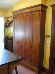 Pantry Cabinet Home Depot Stick Countertops Five Shelves Wood - Home depot kitchen base cabinets