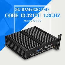 pc bureau avec ssd mini pc ordinateur i3 3217u 8g ram 256g ssd avec wifi de bureau