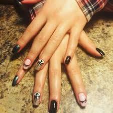 evil eye nail art nails manicure sola salons golden