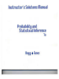 hogg probability and statistical inference 7e instructors