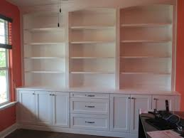 Built In Office Furniture Ideas The Custom Home Office Cabinets Design Including Desk And Wall