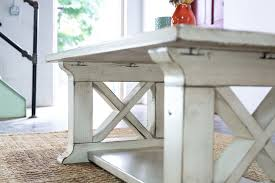 Build Large Coffee Table by Coffee Tables Exquisite Farmhouse Coffee Table Throughout