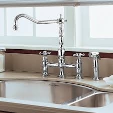 kitchen bridge faucet culinaire bridge kitchen faucet standard