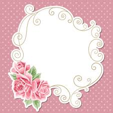 vintage cards pink flower with vintage cards vectors 03 vector card free