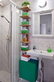 Shelving Ideas For Small Bathrooms 144 Best Small Bathroom Ideas Images On Pinterest Bathroom Ideas