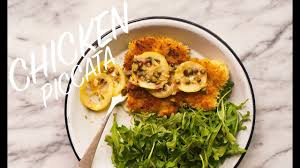 chicken piccata recipe for an easy dinner youtube