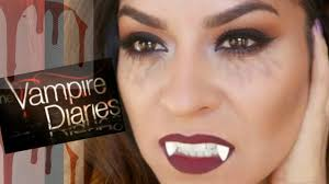 the vampire diaries halloween makeup tutorial youtube