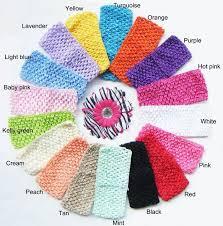 crochet bands aliexpress buy 2 75 crochet headbands baby hairband
