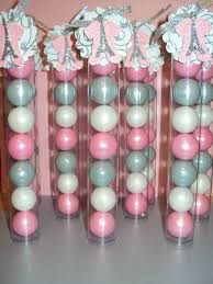 pink and silver baby shower theme baby shower party favors my baby shower 3 my