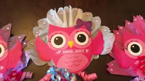 owl centerpieces dollar tree 99 cents items for a diy baby shower centerpieces