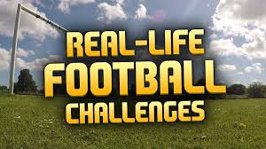 Challenge Real Real Football Challenges Crossbar Challenge