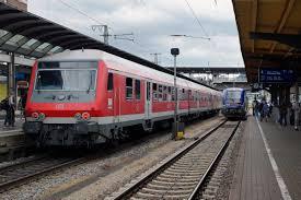 Basel Bad Bf Db Sncf Züge Nach Mulhouse Ville Und Basel Badischer Bahnhof Bei