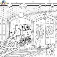 christmas scene coloring pages paw patrol group christmas