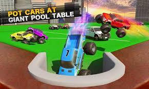 billiards pool car crash demolition derby racing free download