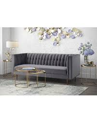 Grey Velvet Sofas Find The Best Deals On Tov Furniture Sebastian Grey Velvet And