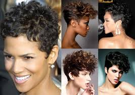 wash and go hairstyles curly hairstyles for black women with short hair wash and go