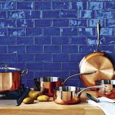 blue tile backsplash kitchen best 25 blue backsplash ideas on blue kitchen tiles