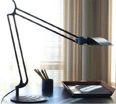 Small Table Lamp Black Desk 1266 Rechargeable Led Portable Compact Desk Lamp Black