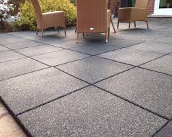 Patio Interlocking Tiles by Outdoor Rubber Tiles And Rugged Grip Loc Tiles Outdoor Patio