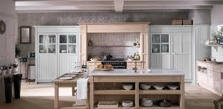 cuisines rustiques bois cuisine rustique en chêne en plaqué bois avec îlot gregal doca