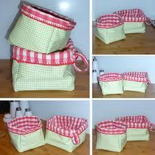 couture accessoire cuisine corbeilles tissu des paillasses