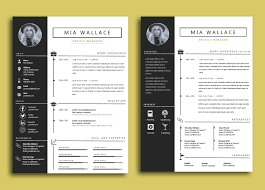 word resume template 2014 elegant minimalistic resume template wi design bundles elegant minimalistic resume template with ms word example image 7