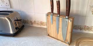 knife blocks handmade custom made knife block by clark wood