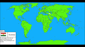 Map Of World Korea by Future Of The World Part 1 Second Korean War Youtube