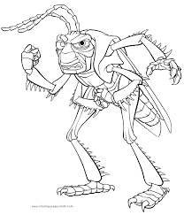 bug u0027s coloring disney coloring pages color plate coloring