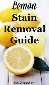 Mayonnaise Stain Removal Guide Mayonnaise Upholstery And Household Lemon Stain Removal Guide Lemon Household And Cleaning Products