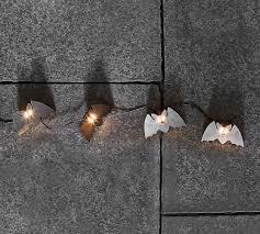 Bat Light Fixture Mini Bat String Lights Pottery Barn