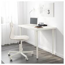 Ikea Furniture Computer Desk Linnmon Adils Table White Ikea