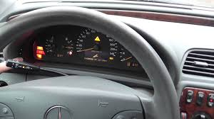 mercedes benz clk service interval indicator reset hd youtube