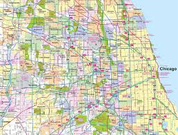 Road Map Of Illinois by Image Gallery Illinois Road Map