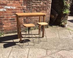 Oak Breakfast Bar Table Oak Hairpin Medium Breakfast Bar Table