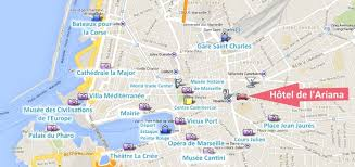 marseilles map hotel de l marseille hotel at low prices between the